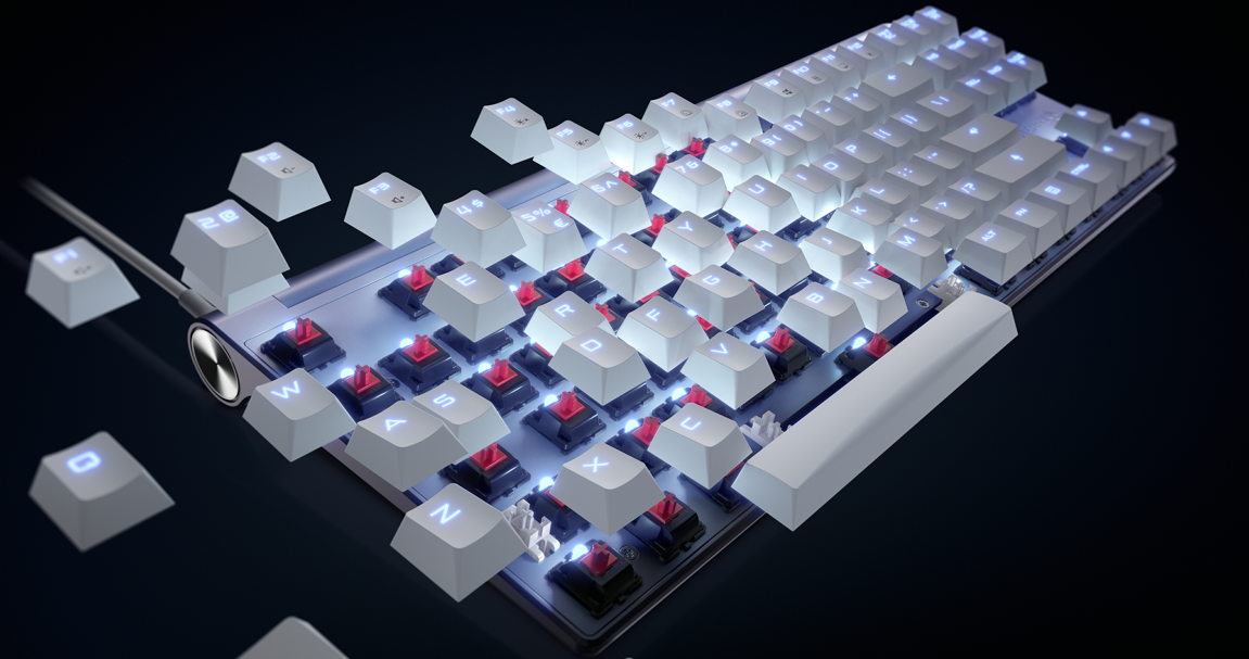 人体工程学键盘4000_Cherry中国官方网站